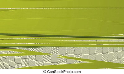Horizontal Distorted Abstract Lines 10