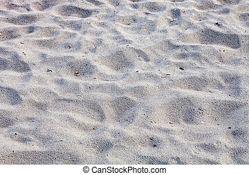 Closeup sand of beach in the summer