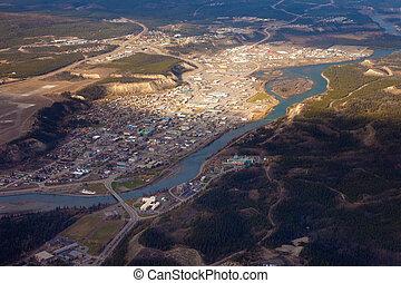 Downtown Whitehorse Yukon Territory Canada - WHITEHORSE,...