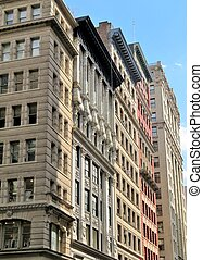 Historic apartment buildings in New York City