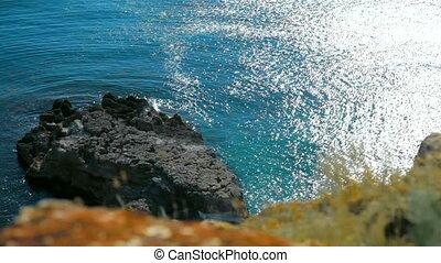 Black Sea coast - Tarkhankut, Black Sea, Crimea, Ukraine