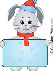 Hare with the poster in Santa Claus hat(117).jpg