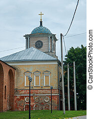 Dnieper Gates.Church of the Smolensk Icon of the Mother of...