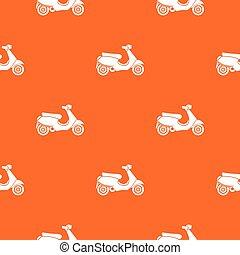 Vespa scooter pattern seamless - Vespa scooter pattern...