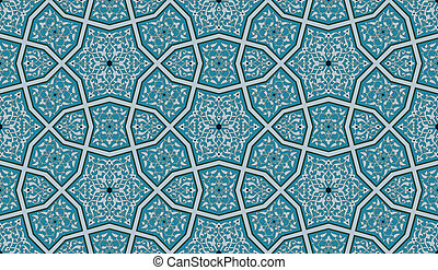 Ornate Seamless Pattern - An Islamic-style seamless pattern....