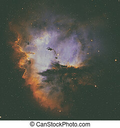 Pacman Nebula is an region in the constellation of...