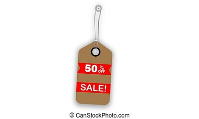 Label sales hanging and swinging. Edit your discount. Alpha...