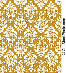 Vintage Wallpaper Pattern - Seamless Wallpaper Pattern....
