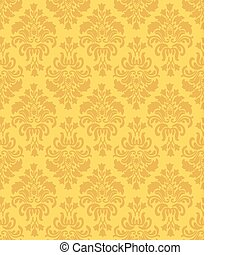 Vintage Wallpaper Pattern - Seamless Wallpaper Pattern...