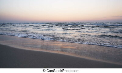 Sunrise Sea Landscape - Beautiful sea coastline landscape,...