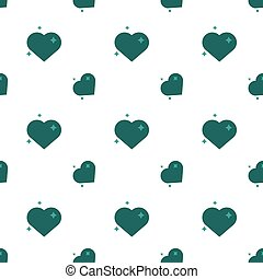 Hearts Of Love Amour Seamless Pattern