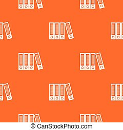 Office folders pattern seamless
