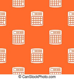 An electronic calculator pattern seamless - An electronic...