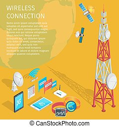 Equipment of Wireless Connection High Tower Beep - Equipment...