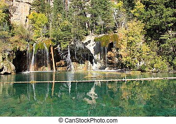 Hanging Lake 2 - Picture of the Hanging Lake near Glenwood...