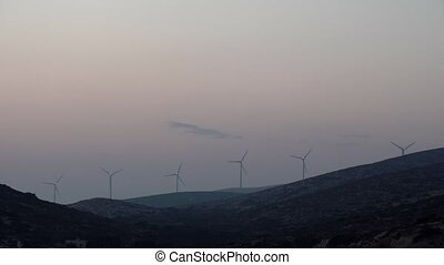 wind energy on the Greek island . - wind energy on the Greek...