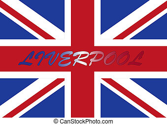 liverpool flag - liverpool wallpaper