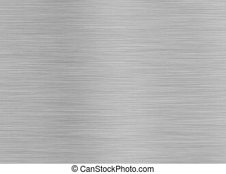 Brashed Steel Background with Space for Text