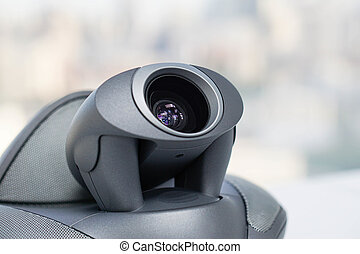 close up video conference camera