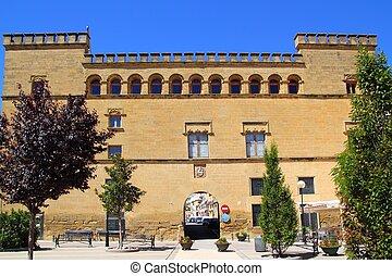 Ayerbe Palace palacio in Aragon Spain