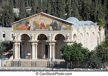 Church of All Natioins in Jerusalem