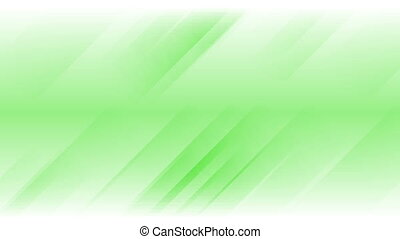 Green stripes abstract video animation - Green bright...