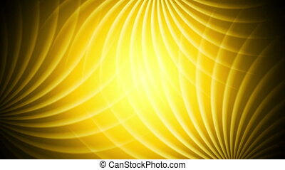 Bright orange elegant swirl abstract video animation -...