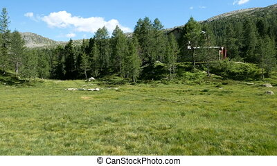 Bosio mountain lodge in Valmalenco