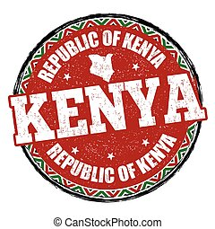 Kenya sign or stamp