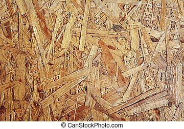 Chipboard background - Full frame background shot of a brown...