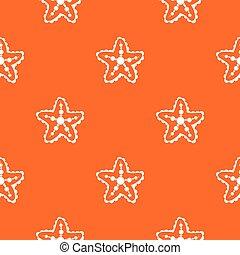 Starfish pattern seamless