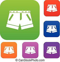 Shorts set collection