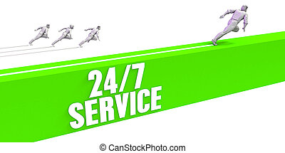 24 7 Service as a Fast Track To Success