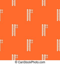 Swedish ladder pattern seamless - Swedish ladder pattern...