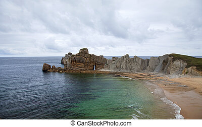 Cantabria, Costa Quebrada, around Liencres - Cantabria,...