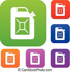 Jerrycan set collection