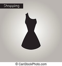 black and white style icon summer dress