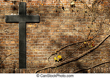 cross - relogion cross on the wall