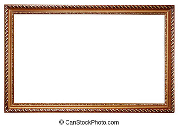 Wooden frame for paintings