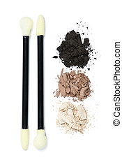 Eye shadow makeup with applicators - Eye shadow makeup...
