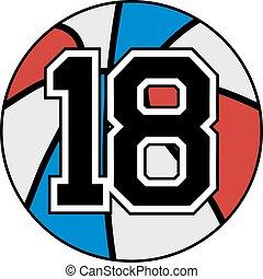 18 basket - Creative design of 18 basket