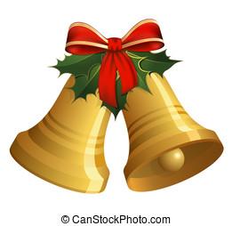 Natale, fascette, agrifoglio, arco