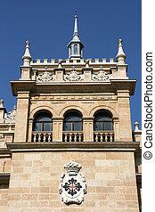 Valladolid - The Academia de Caballeria Cavalry Academy...
