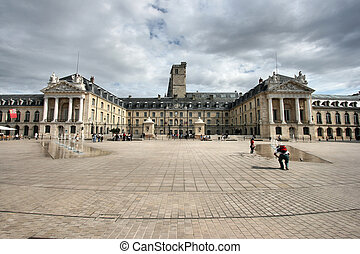 France - Liberation Square and the Palace of Dukes of...