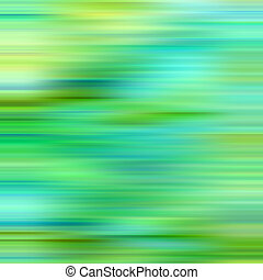 Bright green and blue colors blur background