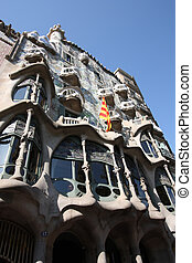 Barcelona - Beautiful modernisme architecture by Antoni...