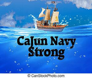 Cajun Navy Strong.