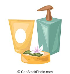 Cosmetical means of natural products for spa procedures -...