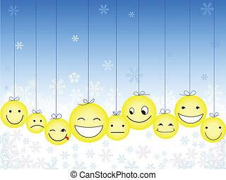 Christmas Smileys