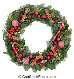 Decorative Christmas Wreath - Decorative christmas wreath...